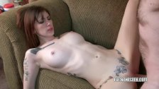Indigo Augustine takes some dick from a geek