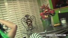 OMG Bad Elf Savana Styles Squrts Everywhere After Fired