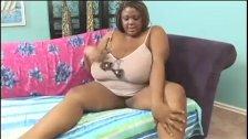 Black BBW with Giant Mellon Tits