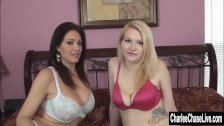 MILF Charlee Chase Breaks In New Lesbian Coed - duration 8:10