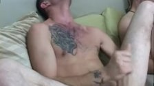 Jock cums in guys mouth while sleeping gay