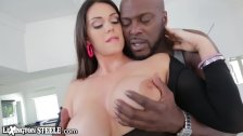 Curvy Alison Tyler takes Lex Steeles HUGE BBC