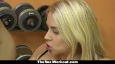 TeamSkeet - Hot Fitness Trainer Gives Client Free Fuck
