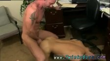 Young boy anal gloryhole gay Pervy boss