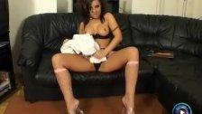 Maria Belucci solo masturbation and anal play