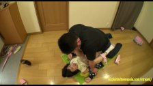 Hoshino Yuzuki Ambushed At Home Fucked On Hallway Floor Perfect Shaved Puss - duration 10:10