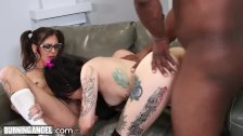 BurningAngel Emo Teens Share Huge BBC