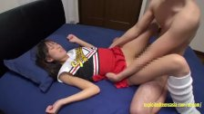 Petite Shori Miyauchi Fucks In Cheerleader Outfit Butt Cheeks Spread Wide