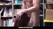 Shoplyfter - Teen Stripped Down & Fucked by Creepy Guy