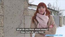 Public Agent German Redhead Loves Cock