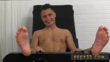 Young boys kissing feet gay Jock Tommy