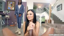 Anal Creampie For Jasmine Jae on Monsters of Cock (mc15009)