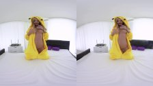 RealJamVR Playful Pickachu knows what to show you