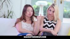 DaughterSwap - Tricking & Fucking Their Dads During Mardi-Gras