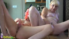 OldNannY Grannies and Teen Lesbians Compilation - duration 12:48
