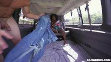 Hot Ebony Vickie Starxxx Facialized