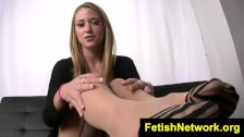 FetishNetwork Shelby Paige JOI in nylons