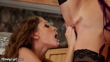 MommysGirl Alexis Fawx makes Daughter Eat Her Out