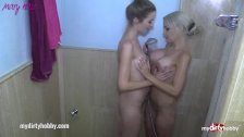 My Dirty Hobby - MaryHaze enjoys a threesome with Sandy