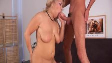 Hot shaved mature