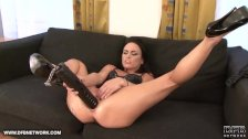 Babe in hardcore interracial fuck she swallows cum Mature gets DP fucked