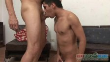 Escort boy face fucked by a gay daddy - duration 3:30