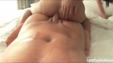 Skinny Femboy Big Cock Riding