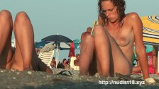 Nude beach voyeur shoots NUDIST  hotties