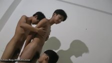 Asian Boyz Threesome Blowjobs