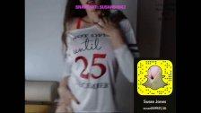 Blonde big tits show  Snapchat: Susan54942