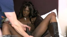 FULL video of Monster cock ebony t babe getting ass fingered