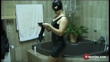 6-movies com - Blow and Handjob in Latex -