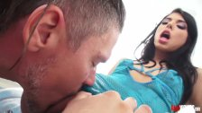 Spunk dripping out of Gina Valentina