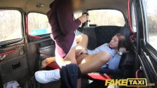 Fake Taxi Voyeur catches sexy couple fucking porn video