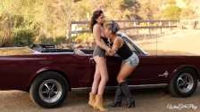 When Girls Play - Bad ass cowgirls Ariana Marie and Nicole Aniston