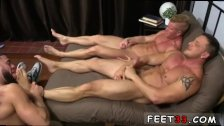 Young gays feet up Ricky Hypnotized To
