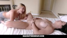 DaughterSwap - Fucking the lesbian out of their daughters
