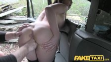 Fake Taxi Hot Australian brunette in heels - duration 11:31