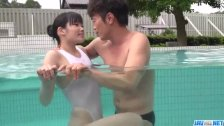 Yui Kasugano is tight and that makes her man moan
