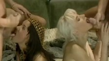 Angelica and Sandra, Anal Orgy