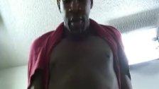 Ebony Gay Gangsta Do Masturbate On Cam