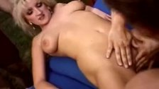 Blonde Swinger Threesome In Pool