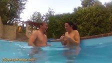 underwater sex after slippery massage