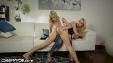 Rebel Stepdaughter Spanked by Mommy - duration 7:25