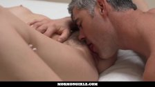 MormonGirlz Father and Son Tabboo Sex with Young Blonde