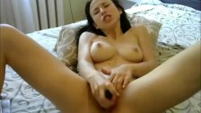 Hot Teen Toying Her Tight Pussy Hard