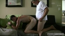 Dad Barebacks Straight Teen With Tight Hole Hidden Cam