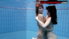 Andrea and Monica underwater girls