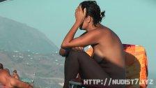 Sexy amateur hidden beach voyeur video