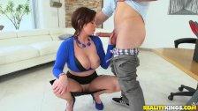Reality Kings Roxxii shows off her big tits